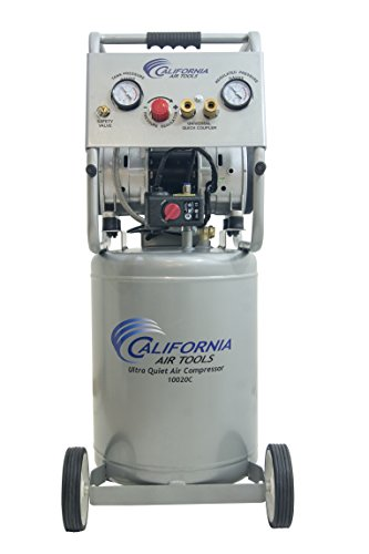 California Air Tools 10020C Ultra Quiet Oil-Free andPowerful Air Compressor, 2 hp