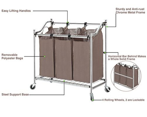 Top 10 Best Laundry Hampers 3 Section