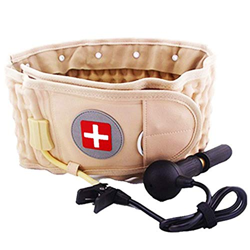Decompression Back Belt & Lumbar Traction Device & Low Back Brace for Back Pain, One Size for 29-49 Waist