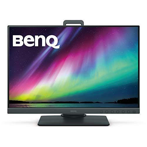 413O q3pqRL BenQ 24.1 inch Color Accuracy Photography Monitor, Professional Display, 1920x1200, IPS, 99% Adobe RGB, Accurate Hardware - SW240 (Black)