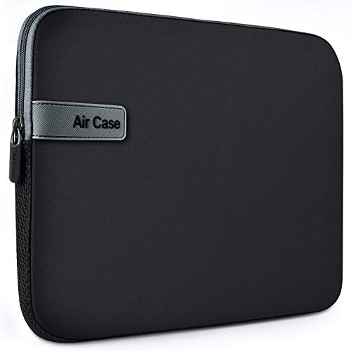 AirCase Laptop Bag Sleeve Case Cover for 14-Inch Laptop MacBook, Protective, Neoprene (Black) 193