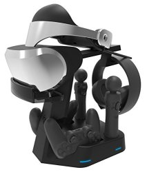 Collective Minds PSVR Showcase Rapid AC PS4 VR Charge & Display Stand - PlayStation 4