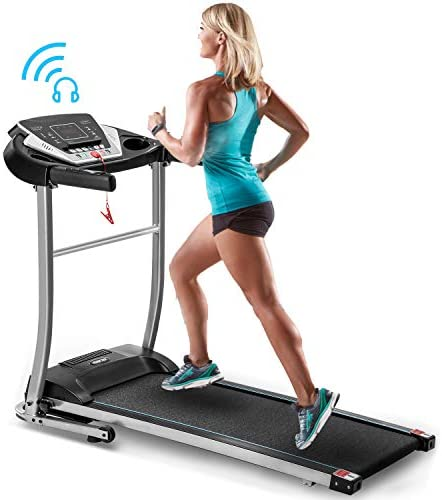 Merax Folding Electric Treadmill Motorized Running Machine Easy Assembly Electric Treadmills for Home, Motorized Fitness Compact Running Equipment with LCD for Home 9