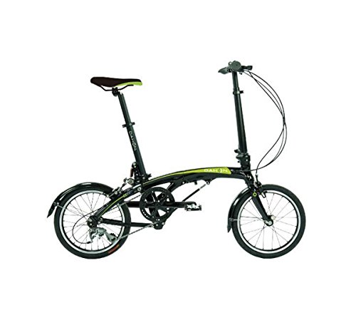 Dahon EEZZ D3 Folding Bike Sable 16' Wheel