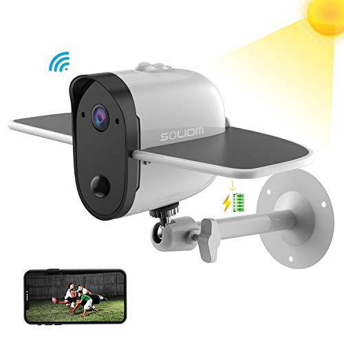 Outdoor Solar Battery Security Camera