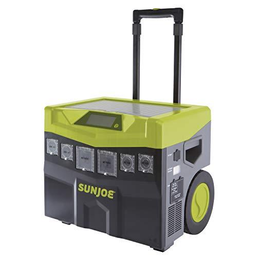 Sun Joe SJ1440SG 1440 Watt Battery Powered Portable Ind/Out Inverter Generator, Green