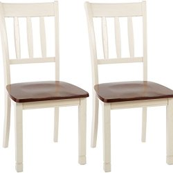 Signature Design by Ashley Whitesburg Dining Room Chair, Brown/Cottage White