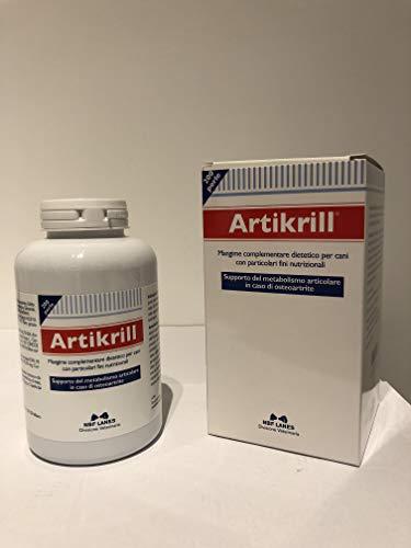 ARTIKRILL 200 PERLE antinfiammatorio rigenera cartilagine per cani