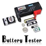 NEW ARRIVAL!!! LiMITED SALE!!! Universal Battery Checker Tester AA AAA C D 9V Button in Consumer Electronics, Multipurpose Batteries