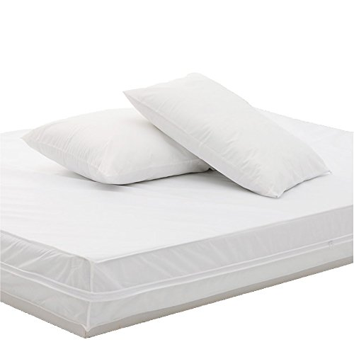 Permafresh Antibacterial Mattress and Pillow Protector Set, King