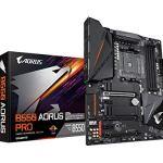 GIGABYTE B550 AORUS PRO (AM4 AMD/B550/ATX/Dual M.2/ SATA 6Gb/s/USB 3.2 Gen 2/2.5 GbE LAN/ALC1220-VB/RGB Fusion 2.0/PCIe4…