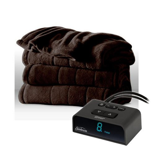 Sunbeam 16A Heated Plush Electric Blanket