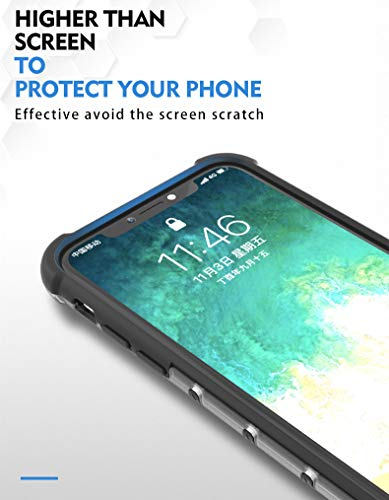 Soezit TPU+PC Dual Layer Honeycomb Pattern Shockproof Back Case Cover for Oppo F11 Pro - Black 9