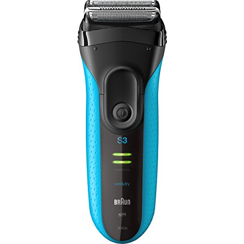 Braun Electric Razor for Men / Electric Shaver, Series 3 ProSkin 3010s, Rechargeable, Wet & Dry, Blue