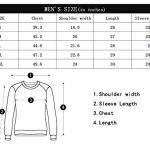 COOLBEARD Men's Clothing Sweaters Walking Hoodies Drawstring Warm 6