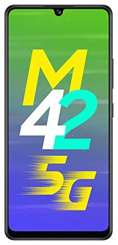 41446q VWuL Samsung Galaxy M42 5G (Prism Dot Black, 8GB RAM, 128GB Storage)