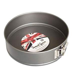 Samuel Groves – 9″ (23cm) Non Stick Round Springform Cake Tin by Chabrias LTD 4145D Rvj6L