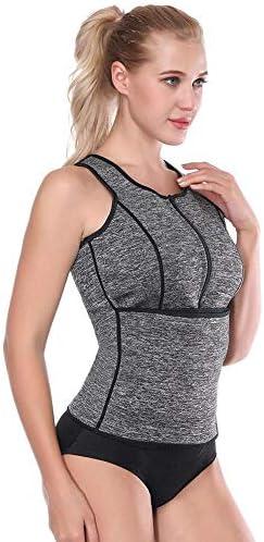 LONGTA Waist Trainer Corset Trimmer Vest for Women Weight Loss,Sauna Body Shaper 2