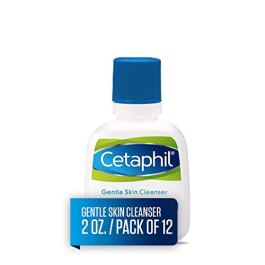 CETAPHIL Gentle Skin Cleanser | 2 fl oz (Pack of 12) | Hydrating Face Wash & Body Wash | Ideal for Sensitive, Dry Skin…