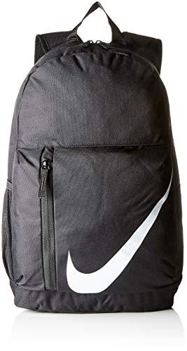 NIKE Kids' Elemental Backpack, Black/Black/White, One Size