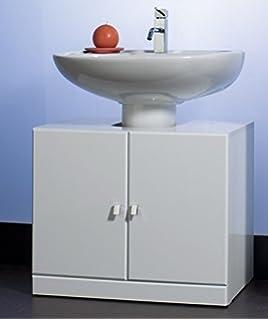 Ikea Fullen Mobile Base Per Lavabo Con 2 Ante Bianco 60x55