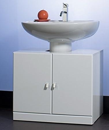 Base Copri Colonna Colore Bianco Mobile Bagno Copricolonna