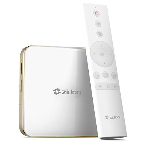 Android 7.0 TV Box Zidoo H6 Pro Media Player Quad-Core 2G/16G Dual Band WiFi HDMI 2.0a 4K H.265 UHD 1000Mbps