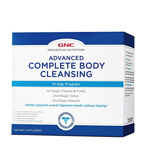 GNC Preventive Nutrition Advanced Complete Body Cleansing