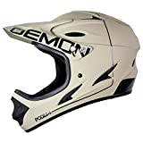 Demon United Podium Full Face Mountain Bike Helmet Tan/Black (Large)