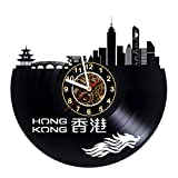 Iskra Shop Hong Kong - Vinyl Wall Clock - Get Unique Gifts Presents for Birthday, Christmas, Ideas for Boys, Girls, Men, Women, Adults, him and her - Sport Unique Art Design