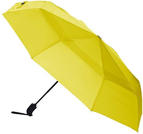 AmazonBasics Umbrella with Wind Vent, Yellow