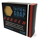 Tactical Soap - Durden (Cedarwood) - Mens All Natural Soap Infused with Powerful Pheromone Formula for Attraction