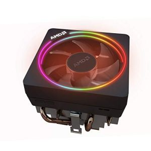 AMD Wraith Prism LED RGB Cooler Fan from Ryzen 7 2700X Processor AM4/AM2/AM3/AM3+ 4-Pin Connector Copper Base/Alum Heat…