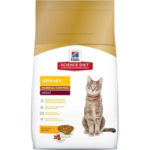 Hill's Science Diet Dry Cat Food, Adult, Urinary & Hairball Control, Chicken Recipe 2