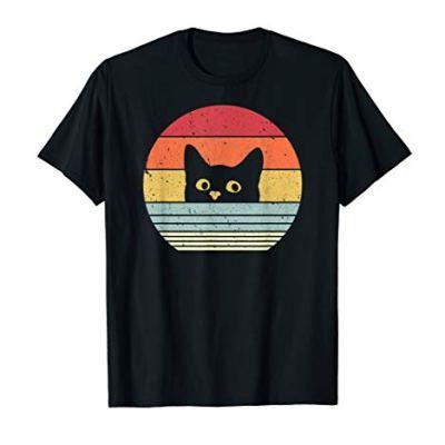 Cat Shirt. Retro Style T-Shirt