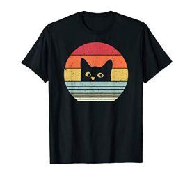 Cat-Shirt-Retro-Style-T-Shirt