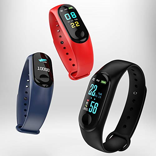 N ZGZRONG Blue Fitness Tracker, Health Tracker Color Screen Sport Smart Watch,Activity Tracker with Heart Rate Blood… 3