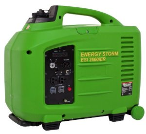 Lifan Energy Storm ESI 2600iER 2800 Watt 150cc 4-Stroke OHV Gas Powered Portable Inverter Generator with Remote Start/Stop Key Fob