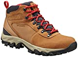 Columbia Men's Newton Ridge Plus II Suede Waterproof Boot Hiking, elk, mountain red, 10.5 Regular US