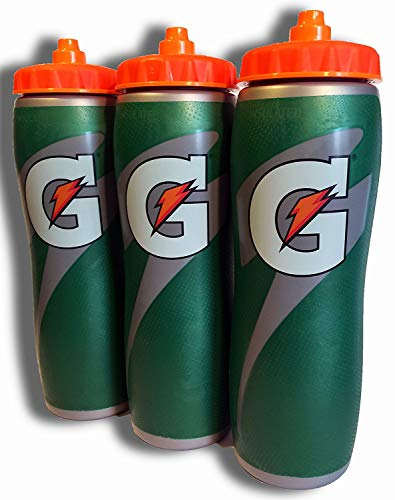 Gatorade Insulated 32oz Water Bottle 3 Pack