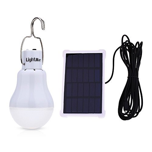 LightMe Portable 15W 140LM Solar Powered Led Bulb Lights Outdoor Solar Energy Lamp Lighting for Home Fishing Camping Emergency