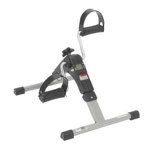 Drive Medical Deluxe Folding Exercise Peddler with Electronic Display , Black Model # RTL10273