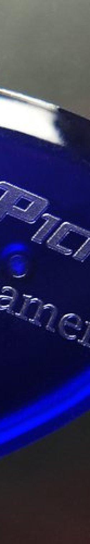 V-Picks Screamer Sapphire Blue Guitar Pick-Pack