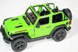 2018 Jeep Wrangler Rubicon No Top Green - Kinsmart P/B