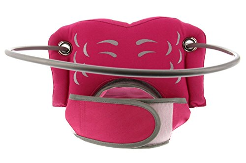 Muffin's Halo Blind Dog Harness Guide Device - Help for Blind Dogs or Visually Impaired Pets to Avoid Accidents & Build Confidence - Ideal Blind Dog Accessory to Navigate Surroundings - Pink- Small