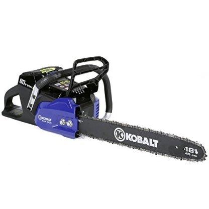 Kobalt-80-volt-Max-volt-Lithium-Ion-Li-ion-18-in-Cordless-Electric-Chainsaw
