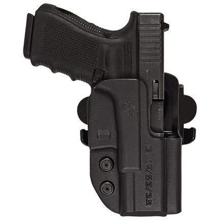 Comp-Tac International Belt Holster Right Hand Glock 41 Kydex Black