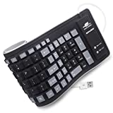BONUSIS Foldable Silicone Keyboard...