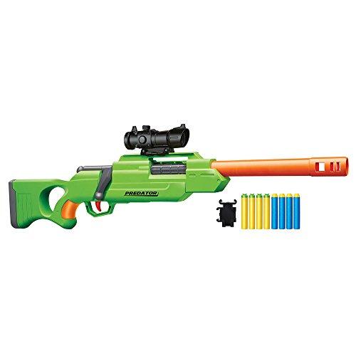 Buzz Bee Air Warriors Bolt Action Sniper Predator Foam Dart Blaster