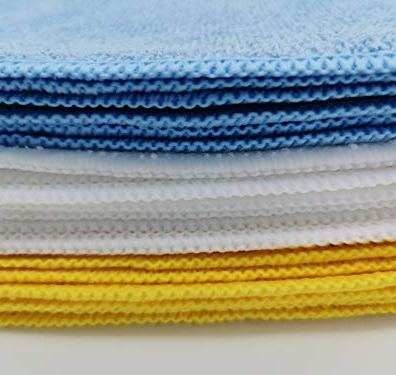 AmazonBasics-Blue-and-Yellow-Microfiber-Cleaning-Cloth-24-Pack-Assorted-colors